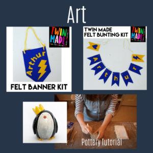 art homeschool resources